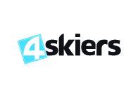4 skiers